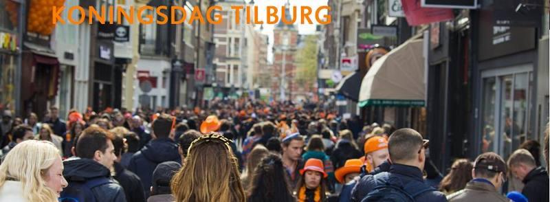 Koningsdag Tilburg 2017 versieren