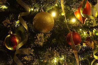 Kerstboom linten