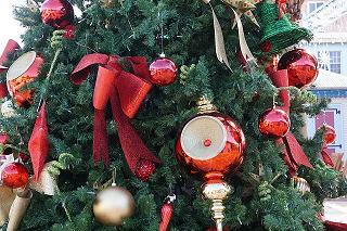 Linten Kerstboom Versieren