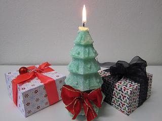 cadeaulint voor de kerst