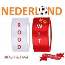 Lint Rood en Wit Voetbal Actie