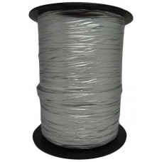 Metallic Polysilk Etalage-Lint Zilver