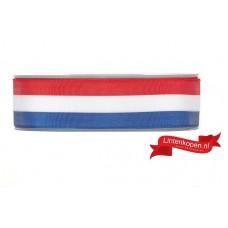 Nederlandse Vlag Lint 26 MM