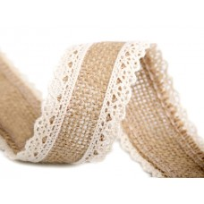 Jute met Kant 38 MM Room