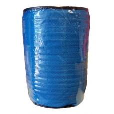 128 Meter Keperband 10 MM Blauw