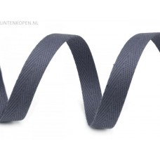 10 MM Breed Keperband Jeans Blauw