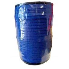 128 Meter Keperband 10 MM Kobalt Blauw