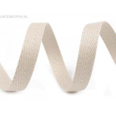 10 MM Breed Keperband Licht Beige