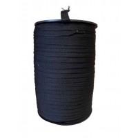 Keperband 10 MM Zwart