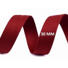 Keperband Granaat Rood 30 MM