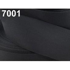 Keperband 50 MM Zwart