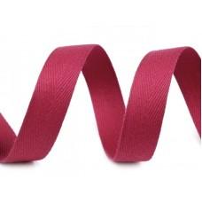 Keperband Licht Wijn Rood 14 MM