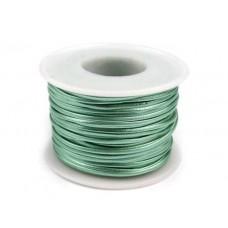 Glanzend Licht Pastel Groen Kunst Leren Koord  1.5 mm