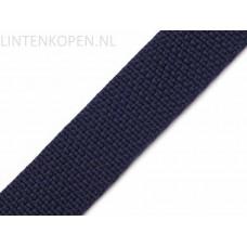 Tassenband Polypropyleen Donker Blauw 30 MM