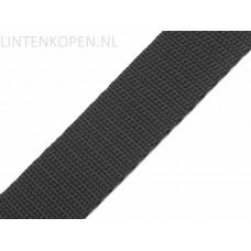 Tassenband Polypropyleen Donker Antraciet 30 MM