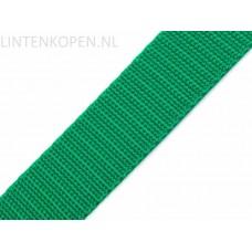 Tassenband Polypropyleen Emerald Groen 30 MM