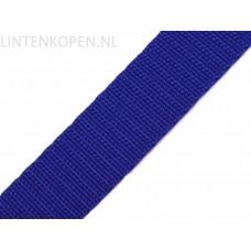 Tassenband Polypropyleen Koningsblauw 30 MM