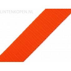 Tassenband Polypropyleen Oranje 30 MM