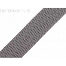 Tassenband Polypropyleen Parelgrijs 30 MM