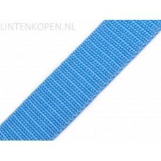 Tassenband Polypropyleen Kleurrijk Blauw 30 MM