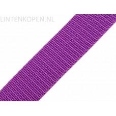Tassenband Polypropyleen Violet 30 MM
