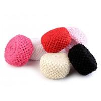 Rood Crochet Elastisch Stretch Band Voor Tutu