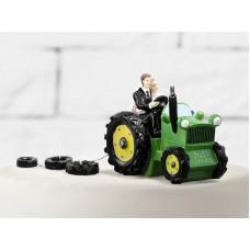 Bruidstaart Versiering Tractor