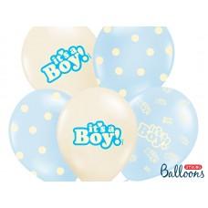 50 Geboorte Ballonnen Jongen