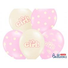 50 Geboorte Ballonnen Meisje
