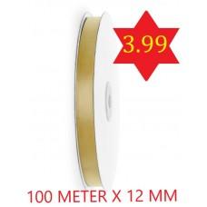 Goud Lint 12 MM x 100 Meter