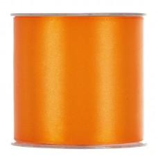 Satijn Lint Oranje 10 Cm
