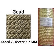 20 Meter Goud Satijn Koord