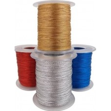 Metallic Koord Goud  | 100 Meter|  1 MM