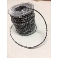 Snoer Zilver Zwart