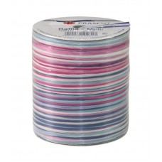 Raffia Lint Blauw Roze