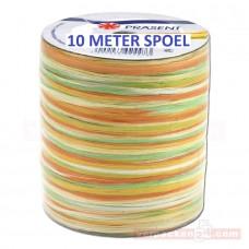 Raffia Lint Geel Oranje 10 Meter