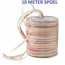 Raffia Lint Oud Roze 10 Meter
