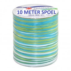Raffia Lint Turkoois Groen 10 Meter
