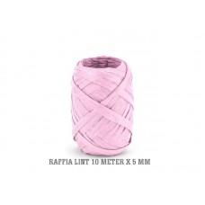 Raffia Lint Roze