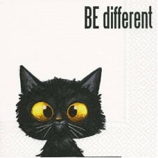 "20 Servetten  ""Be Different"""