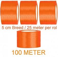 Oranje Koningsdag Linten 100 Meter