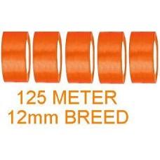 Goedkoop Oranje Lint 12 mm