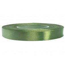 Satijn Lint  Kaki Rot Groen K 12 mm
