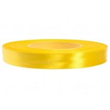 Satijn Lint  Zonnig geel  12 MM Rol 32 Meter