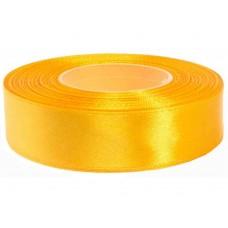 Donker Geel Satijn Lint 25 mm