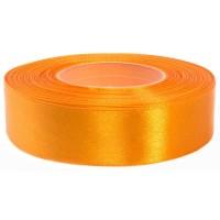 Goud Oranje Satijn Lint 25 mm
