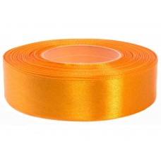 Goud Oranje Satijn Lint 25 mm