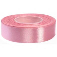 Heide Roze Satijn Lint 25 mm