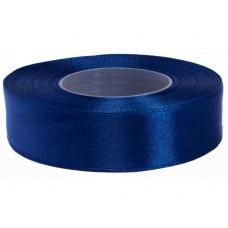 Inkt Blauw Satijn Lint 25 mm