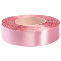 Oud Roze Satijn Lint 25 mm